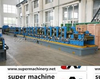 seam high frequency welded pipe mill line