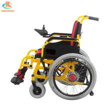 Foldable universal joystick controller for electric wheelchair