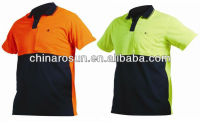 Cotton Hi Viz reflective Polo shirts