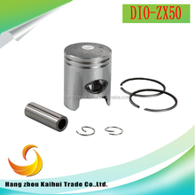 OEM high quality motorcycle engine spare parts DIO-ZX50 piston kits for hot sale