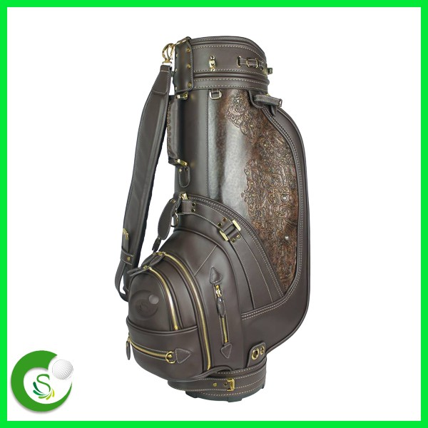 Luxury Real Leather Golf Bags
