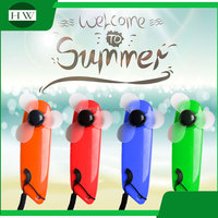 Portable Mini Handheld Popular LED Light Battery Operated Mini Fan Promotional Wedding Gifts Free Sample