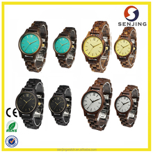 2017 high quality fashion Aliexpress hot selling custom logo factory wholesale wood watch