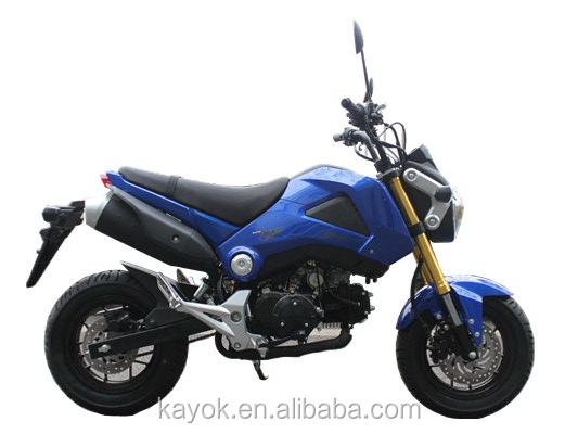Chongqing China Popular Moped Motorcycle 125cc KM125