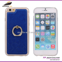 [Somostel] 2015 New Fashion Rock Serie Ring Stand Hard Back Case for iPhone 6,single ring display case