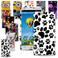 Prints Soft TPU Gel Back Case Cover For ZTE Blade L2 Plastic Mobile Phone Bag+ Screen Film+Stylus With Free Shipping Cost
