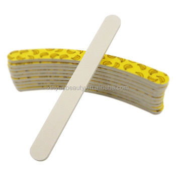 For export customized mini eva printing nail files nail buffer foam files emery boards