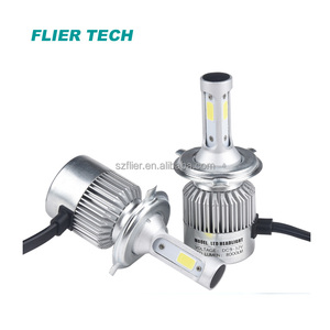Promotion car parts accessories led car light 40W 4800LM with no fan h4 led car headlight led motorcycle headlight h4