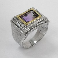 A13272Z Silver & Gold Ring