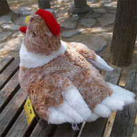 Real simulation looklive plush hen quliaty toy