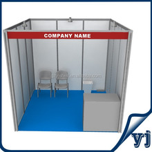 Fashion trade show exhibition standard booth , Canton fair trade show shell scheme booth