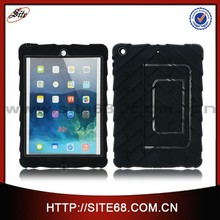 New arrival stander 2 in 1 combo protector case for ipad air with factory price