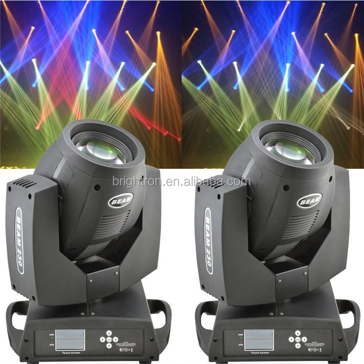 230w sharpy 7r moving head beam light with double prisms