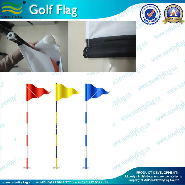 plastic tube golf flag master