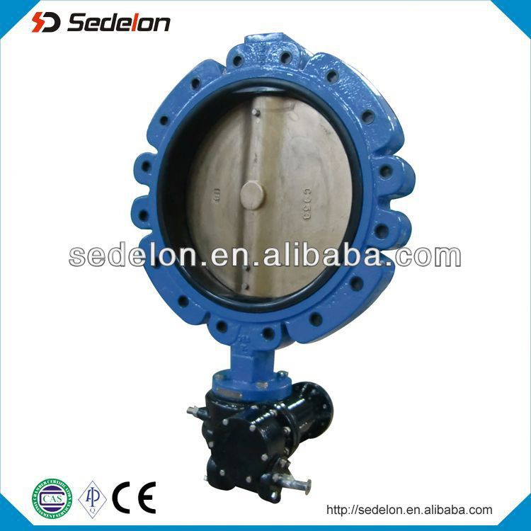 Ts Approved Shouldered Butterfly Valve