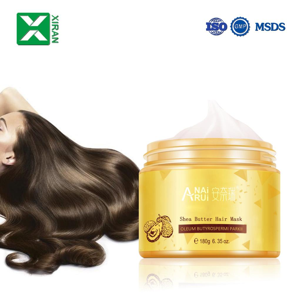 Professional manufacture hair mask smoothing keratin shea butter cosmetic natural treatment hair mask