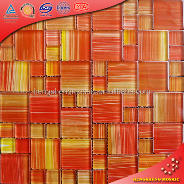 High quality waterproof wall panels glazed arabic mosaic for decoration