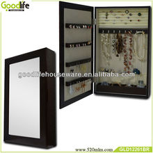 Chna supplier furniture new style wall mounted mirror jewelry cabinet with mirror