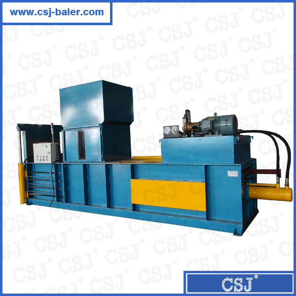 CE, ISO PLC System Hydraulic Horizontal Straw Baler Semi-auto Continuous Baling Press with High Capacity