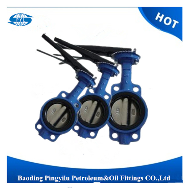 4 inch flanged stainless steel butterfly valve with price list