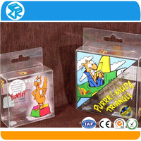 Clear plastic acrylic clear cube gift boxes