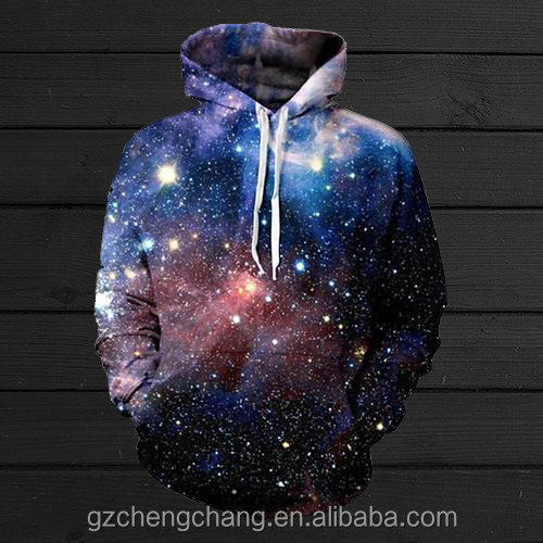 China manufacturer high quality and cheap price custom 3D printing fleece hoodie men