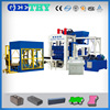 automatic concrete hollow block making machinery QT12-15 automatic concrete solid block machine