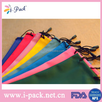 Wholesale soft pu leather glasses bag/ soft leather pouch case for sunglasses/ eyeglass/ jwewlry