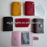2015 Manufacturers Supply New Design PU Card Holder