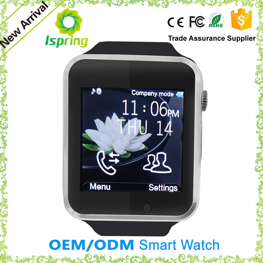 mtk 6261 smart watch phone a1 gt08,u12 smart watch,bluetooth smart u80 watch