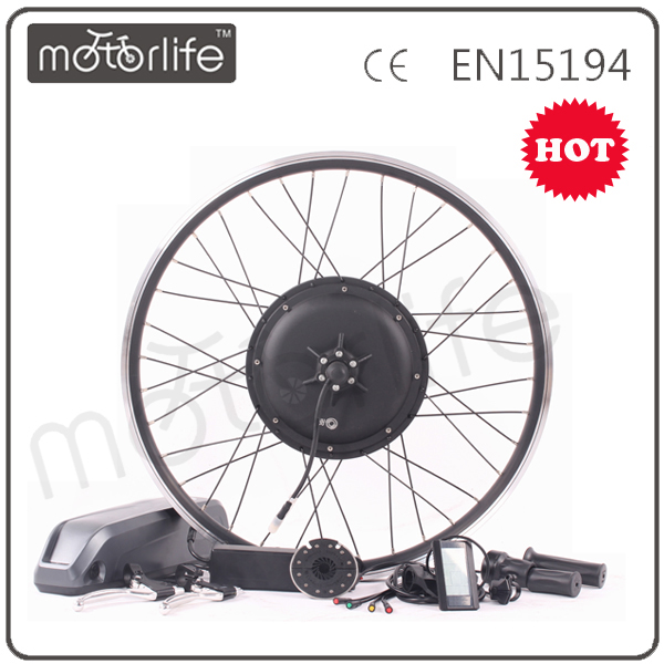 MOTORLIFE/OEM brand 2015 CE ROHS pass 48v 1000w electric pedal assist bicycle kit