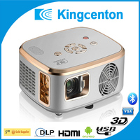 dlp 1000 ansi lumens 3d projector andriod 4.0.3 bluetooth projector
