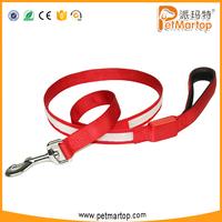 No MOQ Limitation Soft webbing Led Dog Leash,Wholesale Dog Collar and Leash