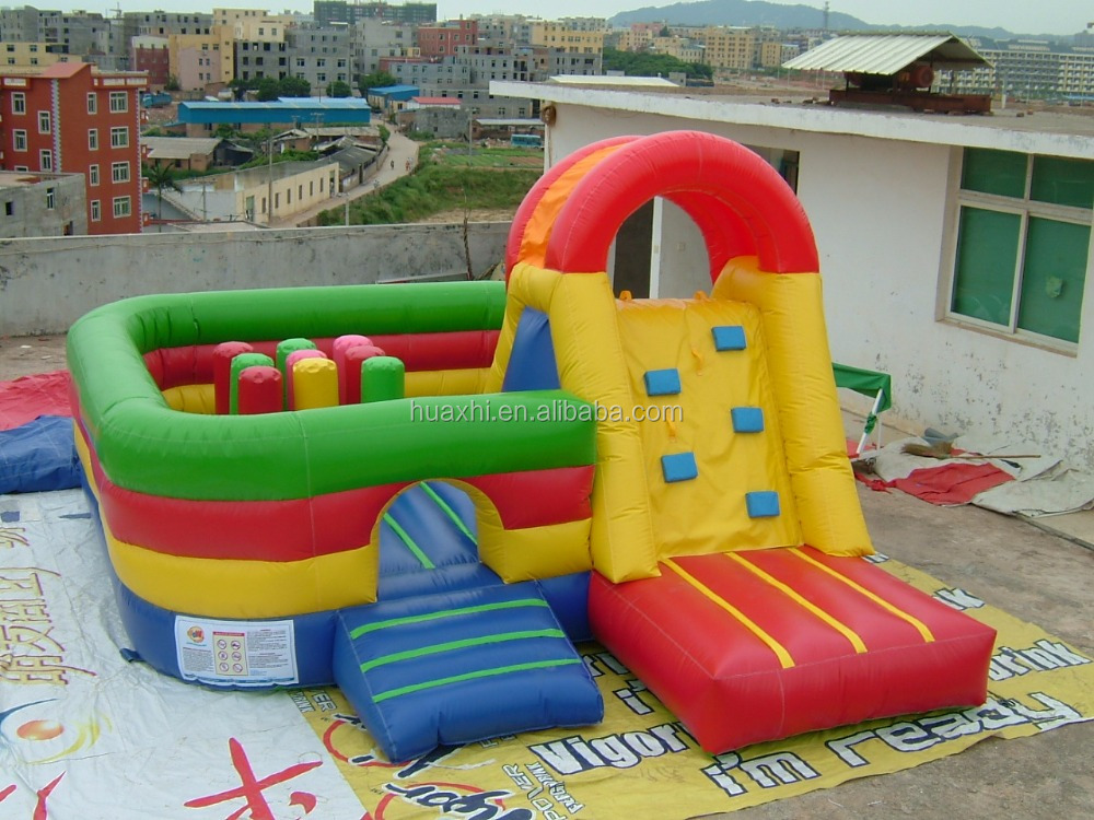 China inflatable toys colorful kids inflatable slide inflatable slides for sale