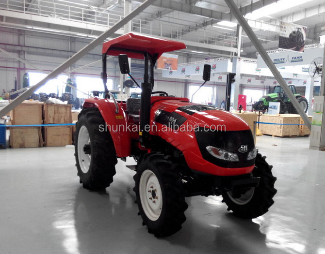 hot selling SH604 Deutz Fahr 60HP 4WD Wheel Tractor