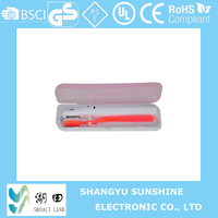 battery operated UV light toothbrush disinfect/toothbrush sterilize/toothbrush degassing BL235