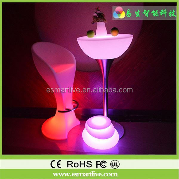 multitouch interactive bar table magic furniture bar lighting and decorative lighting bar color change wine led table