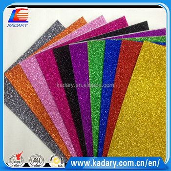 fashionable gold dust eva foam sheet