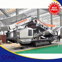 Minerals Metallurgy Track Mounted Portable Crusher