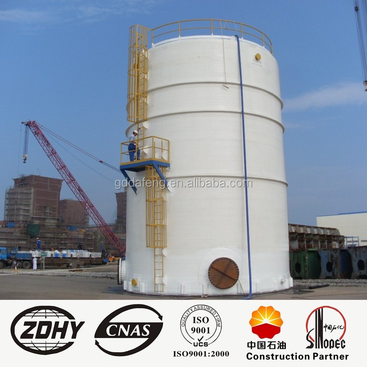 3000 m3 large floating roof tanks, tank insulation, automatic submerged arc welding.