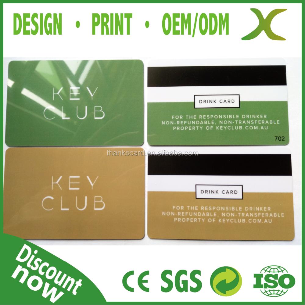 Free Design Free Sample Plastic spa membership card Plastic – Sample Membership Card