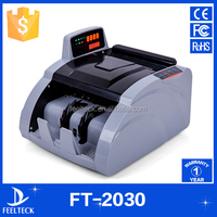professional cash counting machine with fake note detection