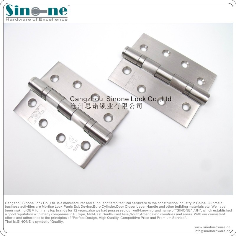 Heavy Duty Stainless Steel 304 fire door pivot Hinge for wooden steel door/Germany Quality CE EN1935/Guaranteed for 5yrs