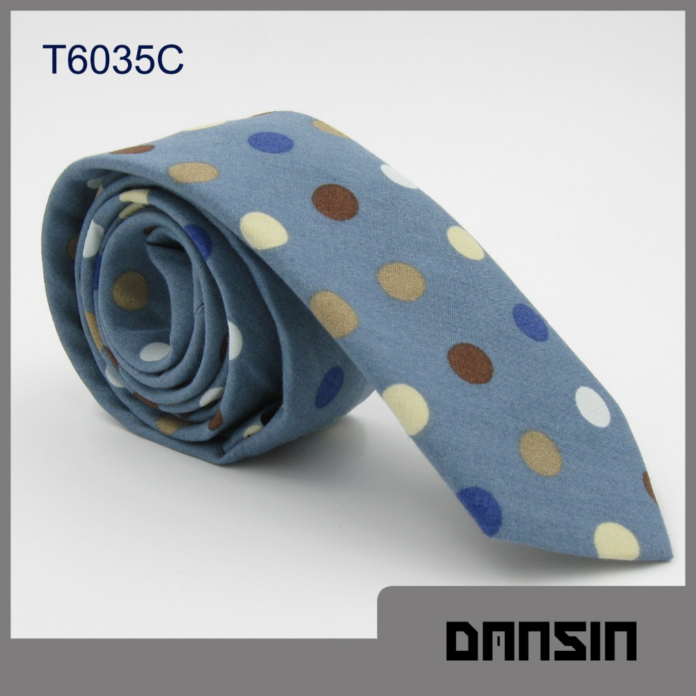 Classic Design High Quality Men Cotton Boys Necktie