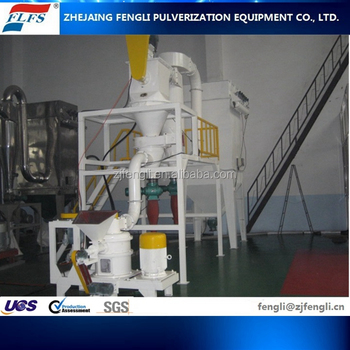China QWJ Graphite Pulverizer Graphite spherical Production Line