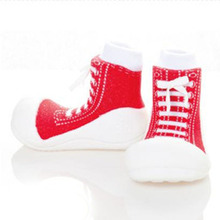 Fashion Attipas style Baby Prewalkers TPR Sole Infant Sock Shoes Indoors Firstwalkers Baby Footwear