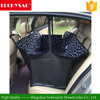 Pet Dog Cat Car Rear Black Waterproof Seat Cover with Claw Pattern for Travel