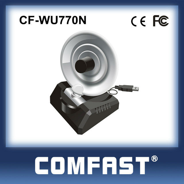 COMFAST CF-WU770N RT3070L High Power Wireless Usb Adapter With 10dBi Dish antenna USB WiFi Adapter