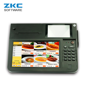 8 inch Touch Screen Android Lottery Ticket Printing Machine with 80mm Auto Cutter Printer ZKC PC800