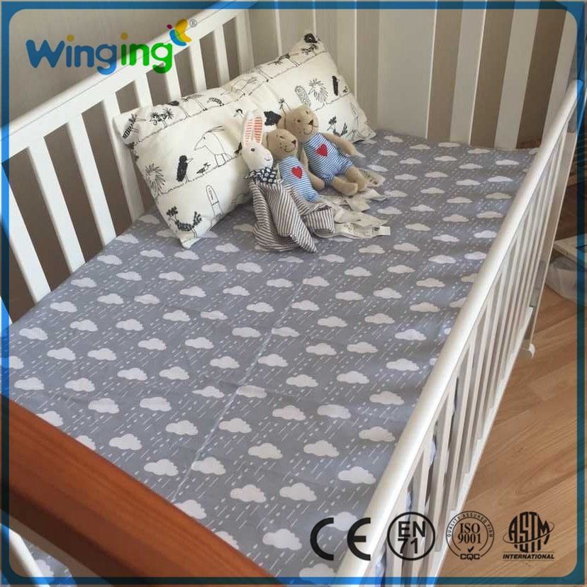 100% Cotton baby Bedding Super soft cute top quality safety material cotton baby round crib bedding